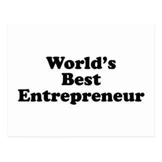 World's Best Entrepreneur Postcard
