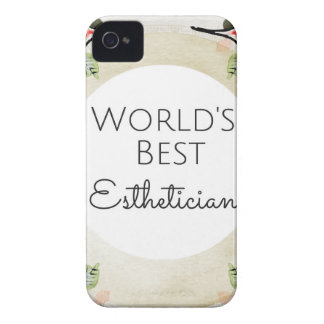 World's Best Esthetician gift 2 iPhone 4 Covers