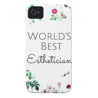 World's Best Esthetician gift 4 iPhone 4 Case-Mate Case
