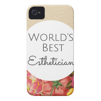 World's Best Esthetician gift Case-Mate iPhone 4 Case