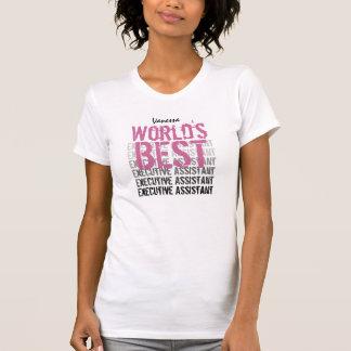 World's Best Executive Assistant Custom Name v01 T-Shirt