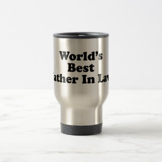 World's Best Father In Law Travel Mug