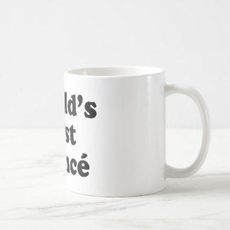 World's Best Fiance Basic White Mug