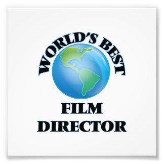 World's Best Film Director Photo Art