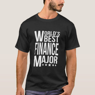 World's Best Finance Major T-Shirt