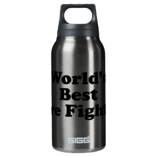 World's Best Fire Fighter Insulated Water Bottle