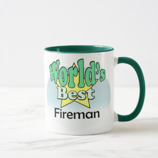 World's best Fireman Mug