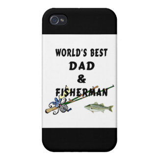 Worlds Best Fishing Dad iPhone 4/4S Case