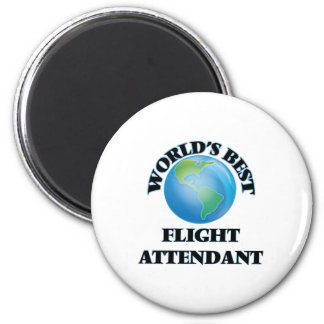 World's Best Flight Attendant Magnet