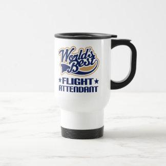 Worlds Best Flight Attendant Travel Mug