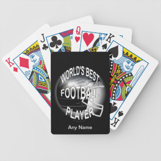 World's Best Football Player Bicycle Playing Cards