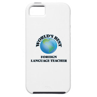 World's Best Foreign Language Teacher iPhone 5 Cover