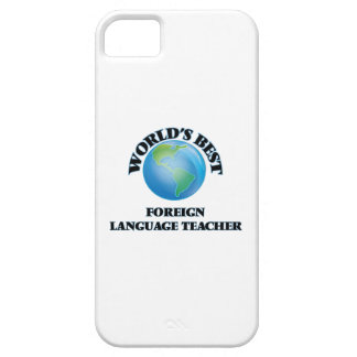 World's Best Foreign Language Teacher iPhone 5/5S Cases