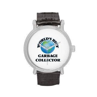 World's Best Garbage Collector Wristwatch