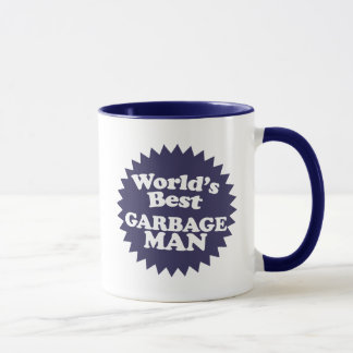 World's Best Garbage Man Mug