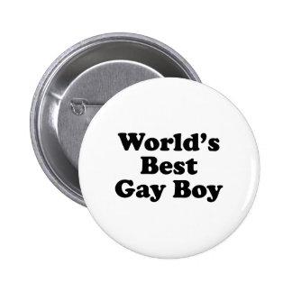 World's Best Gay Boy Button