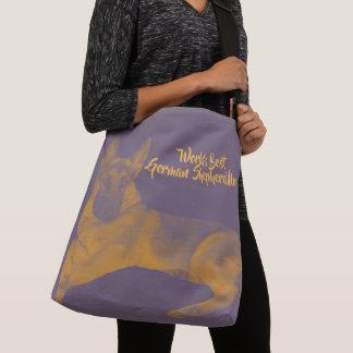 World's Best German Shepherd Mom Crossbody Bag