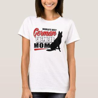 World's Best German Shepherd Mom T-Shirt