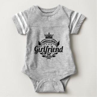 WORLDS BEST GIRLFRIEND BABY BODYSUIT
