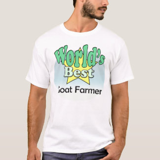 World's best Goat Farmer T-Shirt