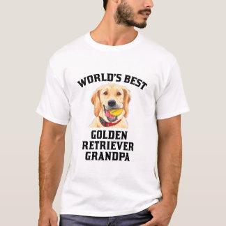 World's Best Golden Retriever Grandpa T-Shirt