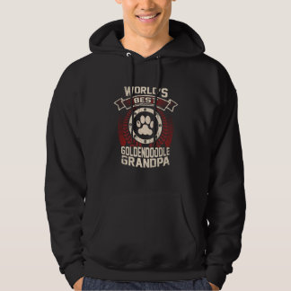 World's Best Goldendoodle Grandpa Hoodie