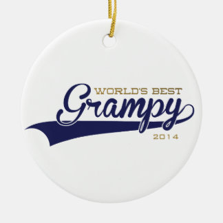 World's Best Grampy Ornament