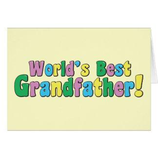 World's Best Grandfather Card