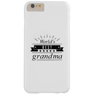 World's Best Grandma Barely There iPhone 6 Plus Case