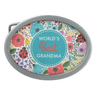 World's Best Grandma Belt Buckle