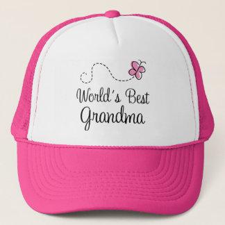 World's Best Grandma Butterfly Gift Trucker Hat