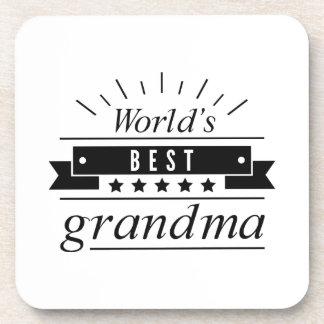 World's Best Grandma Coaster