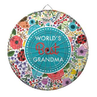 World's Best Grandma Dartboard