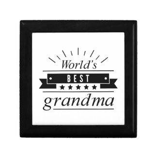 World's Best Grandma Jewelry Box