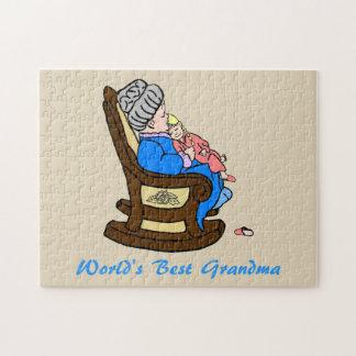 World's Best Grandma Jigsaw Puzzle