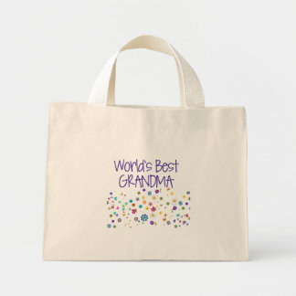 World's Best Grandma Mini Tote Bag