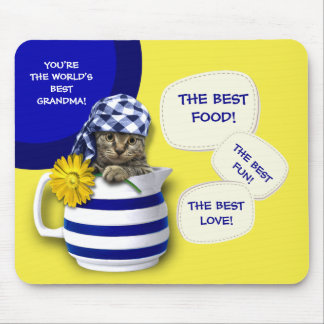 World's Best Grandma. Mother's Day Gift Mousepads