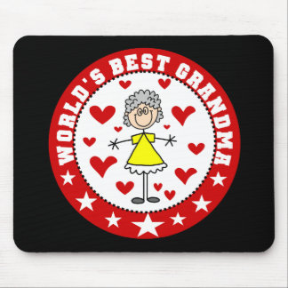 World's Best Grandma Mousepad