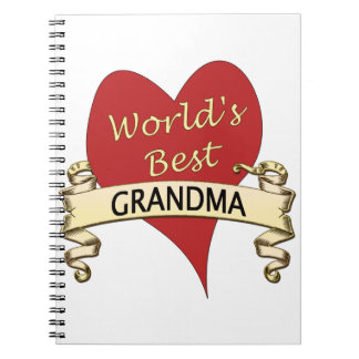 World's Best Grandma Notebook