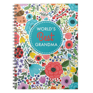 World's Best Grandma Spiral Notebook