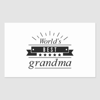 World's Best Grandma Sticker