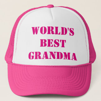 World's best Grandma Trucker Hat