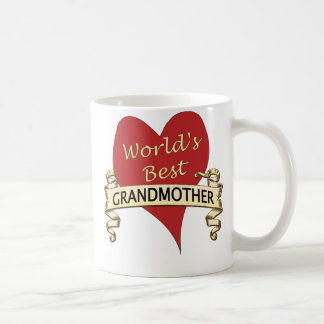 World's Best Grandmother Coffee Mug