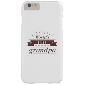 World's Best Grandpa Barely There iPhone 6 Plus Case