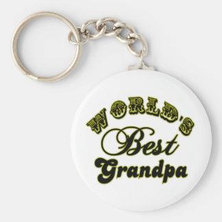 World's Best Grandpa Keychain