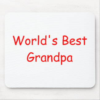 World's Best Grandpa Mousepad
