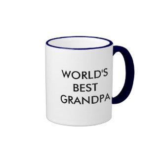 world's best grandpa ringer mug