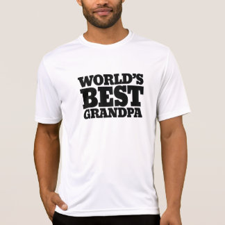 Worlds best grandpa T-Shirt