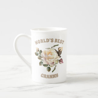 World's Best Granny Tea Cup