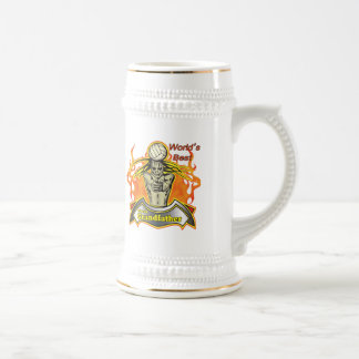World's Best Great Grandpa Father's Day Gift Beer Stein